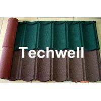 Buy cheap Color Stone Coated Metal Roof Tile Machine from wholesalers