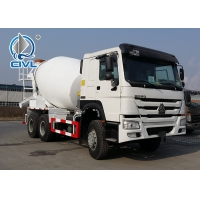 Buy cheap White Concrete Mixing Equipment  Sinotruk 6M3 Mixer Tank Truck 6x4 White Color With Italy Pto from wholesalers