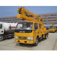 Buy cheap 12 Meters Aerial Lift Truck , High Altitude Platfrom Bucket Lift Truck from wholesalers