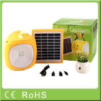 China Factory OEM for off-grid rechargeable solar led camping lantern with phone charger on sale