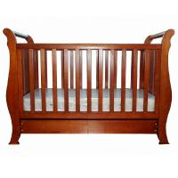 Buy cheap Good selling simple elegant New Zealand solid pine wood baby crib baby cot baby bed baby bedding from wholesalers