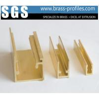 Buy cheap Copper Alloy Extrusion Window Frame Special Brass Window Sections from wholesalers
