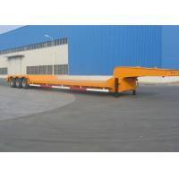 Buy cheap Carbon Steel 16m Gooseneck Low Loader Trailer With Three Axle 50T Capacity from wholesalers