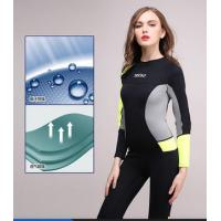 Buy cheap 3mm Neoprene Surf Suit Surfing Full Body Wetsuit UV Protection from wholesalers