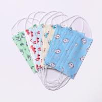 Buy cheap 3 Ply Non Woven Child Face Mask Disposable With Ear Hook Headband Adjustable from wholesalers