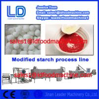 Buy cheap Best quality Automatic Modified Starch extrusion Machinery product