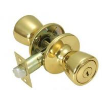 Buy cheap Commercial Furniture Antique Door Knobs / Brass Push Button Door Knob from wholesalers