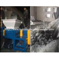 Buy cheap Plastic Film Bale Single Shaft Shredder V Design Rotary Blade High Performance from wholesalers