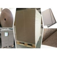 Buy cheap SGS Certified Gray Paperboard Straw Board Paper Uncoated Recycled Folding Resistance from wholesalers