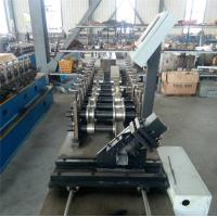 Buy cheap Durable CZ Purlin Roll Forming Machine Dual Holes Punching 11 MAp Work Pressure from wholesalers