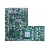 Buy cheap Green Six Layer HDI Multilayer PCB Printer Multi Circuit Boards  0.1mm product