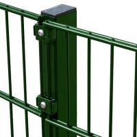 Buy cheap Low Carbon Steel Twin Wire Fence , Vinyl Coated Wire Fence 50 X 200 mm from wholesalers