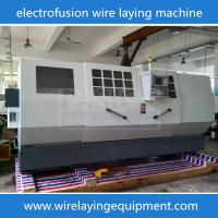 Buy cheap NEW Design Wire Laying Machine For PE Pipe Fittings Electorfusion Fittings Mold/Molding/Mould Machine from wholesalers