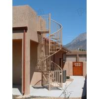 Buy cheap high quality prefabricated spiral staircase / outdoor metal spiral stairs from wholesalers