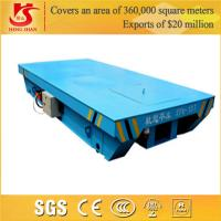 Buy cheap Industrial Rail Mounted Flat Handling crane Rail Motor Car from wholesalers
