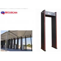 Buy cheap Multi-zones Walk Through Metal Detector Gate ; Factories(to find needle in clothing,  shoes,  bags from wholesalers