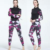 Buy cheap In Stock Professional 3mm Outdoor Surfing High Pressure Resistant Neoprene Women Diving Suit from wholesalers