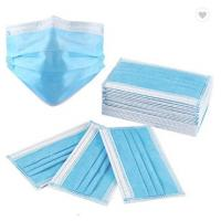 Buy cheap 3Ply Surgical Face Mask Non Woven Air Anti Virus and Dust disposable Surgical product