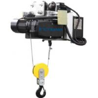 Buy cheap Headroom Electric Wire Rope Hoist With Motor Trolley Designed Double Speed from wholesalers