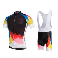 Buy cheap beautiful women 92 polyester 8 spandex custom women cycling uniform from wholesalers