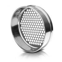 Buy cheap Perforated Plated Wire Mesh Sieve Round Hole ISO 3310 / ASTM E11 Standard from wholesalers