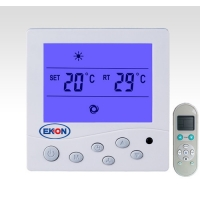 Buy cheap 2 Pipe 600w Fan Coil Unit Thermostat With Remote Controller from wholesalers