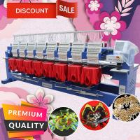 Buy cheap HO1508H 8 heads 400*450mm tajima type computer embroidery machine cheaper than zsk embroidery machine price for cap flat from wholesalers