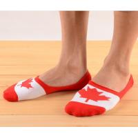 Buy cheap Custom flags sweat-absorbent unisex invisible boat socks from wholesalers