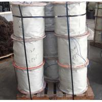 China 10mm 7 x 7 / 7 x 19 Steel Wire Rope , DIN / AISI / BS / ASTM on sale