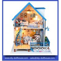 Buy cheap scale model dollhouse diy dollhouse large room box 13824 from wholesalers