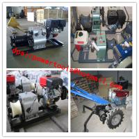Buy cheap Cable bollard winch ,Cable Drum Winch,Cable pulling winch from wholesalers