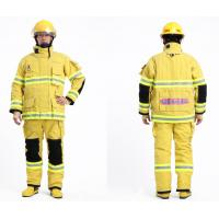 Buy cheap Fire Department Nomex FR Firefighter Uniform Flame Retardant Coveralls with Nomex IIIA from wholesalers