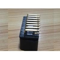 Buy cheap J1962 GOLDEN PLATED OBDII 16 PIN MALE CONNECTOR ,90 degree PCB SOLDERED from wholesalers