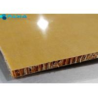 Buy cheap Phenolic Resin Aramid Honeycomb Panels For Yacht Wall / Ceiling 40g/M2 Weight from wholesalers