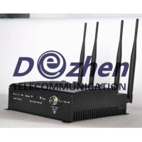 Buy cheap Adjustable Desktop Mobile Phone ,WiFi Jammer with Remote Control from wholesalers