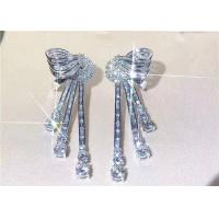 Buy cheap High End Personalized Bvlgari 18K White Gold Diamond Earrings For Women product