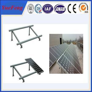 Buy cheap Single cloumn Steel solar panel mounting bracket, Solar panel roof mount kit product
