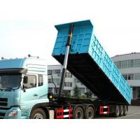 Buy cheap Hydraulic Tipper Semi Trailer Truck 80 Tons 25-45CBM For Cargo Transport from wholesalers