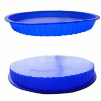 Buy cheap Silicone Mold Bakeware for DIY Pizza Sponge Fruit Flan Cake Bread Pie product