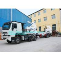 Buy cheap Fuwa 13 Ton Axle Port Handling Equipments Sidelifter Container Trailer For Lifting product
