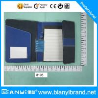 Buy cheap Custom Leather Portfolio, Business Folder from wholesalers