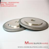 Buy cheap Electroplated Diamond/ CBN Grinding Wheels for Profile Forming or Surface Grinding of Marble  Alisa@moresuperhard.com from wholesalers
