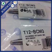 Buy cheap Hakko T12-BCM3 soldering iron tips for Hakko FX950/951/952 soldering station, FM2027/2028/FX-9501 soldering iron from wholesalers