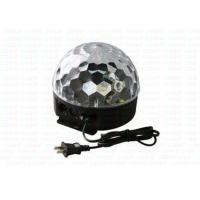 Buy cheap Colorful Led Crystal Magic Ball Light With  Remote Controller / Sound Controlled from wholesalers