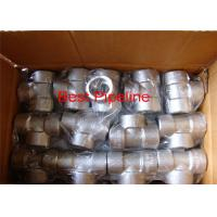 Buy cheap 1.4571 Forged Stainless Steel Pipe Fittings 4 Inch Pipe Coupling / Tee Coupling from wholesalers