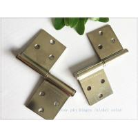 """Buy cheap Bright Color 3"""" Brass Lift Off Hinges Zinc Plated Metal Material  1.0mm Thickness product"""