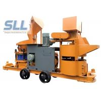 Buy cheap Customized Color Portable Shotcrete Machine With Cement Mixer / Hose Pump from wholesalers