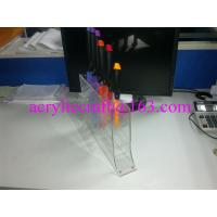 Buy cheap Transparent acrylic knives display racks / PMMA knife holder / plexiglass knife stand from wholesalers