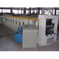 Buy cheap chrome coated 0.05mm 5ton manual uncoiler K span roll forming machine from wholesalers