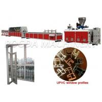 Buy cheap Plastic UPVC Window and Door profile extrusion machine from wholesalers